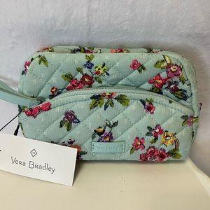 Vera Bradley Iconic Mini Cosmetic - Water Bouquet